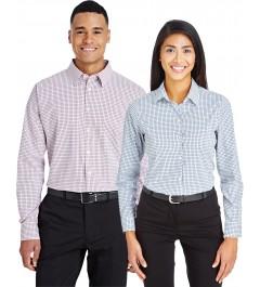 Chemise CrownLuc à micro-carreaux